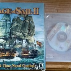 Videojuegos y Consolas: AGE OF SAIL II JUEGO PC CAJA GRANDE. Lote 159867058