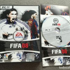 Videojuegos y Consolas - FIFA 08 PC DVD ROM lfp kreaten 2008 - 160150142