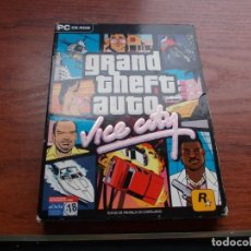 Videojuegos y Consolas: GRAND THEFT AUTO VICE CITY, 2 CD, MAPA Y GUÍA. 2.003. Lote 160279634