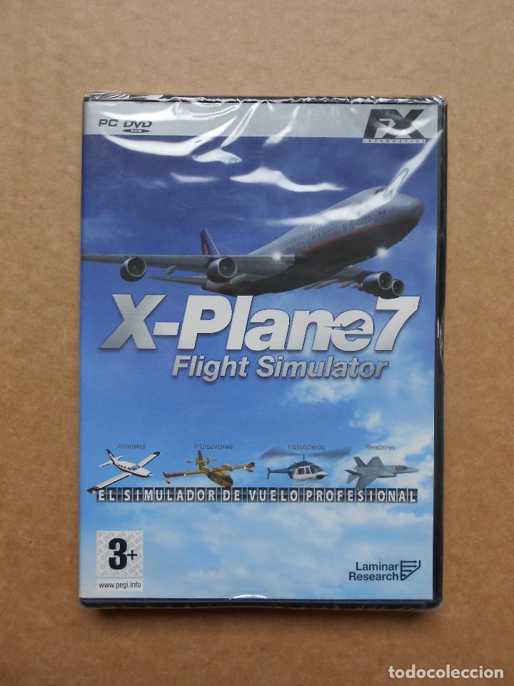 X-PLANE 7 FLIGHT SIMULATOR - JUEGO PARA PC - PRECINTADO NUEVO (Juguetes - Videojuegos y Consolas - PC)