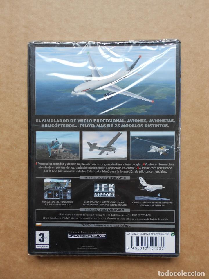 Videojuegos y Consolas: X-PLANE 7 FLIGHT SIMULATOR - JUEGO PARA PC - PRECINTADO NUEVO - Foto 2 - 160365906