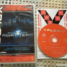 Videojuegos y Consolas: STAR TREK AWAY TEAM PC CD ROM XPLOSIV KREATEN STARTREK. Lote 160535574