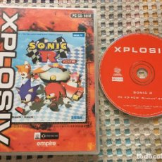 Videojuegos y Consolas: SONIC R SEGA PC CD ROM EMPIRE XPLOSIV KREATEN. Lote 160536210