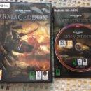 Videojuegos y Consolas: WARHAMMER 40.000 40000 ARMAGEDDON PC DVD . Lote 160564602
