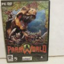 Videojuegos y Consolas: PARAWORLD - DVD - PC - 2006 - SUNFLOWERS - ESTRATEGIA - VG+/EX+. Lote 160570634