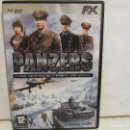 Videojuegos y Consolas: PANZERS - DVD - PC - 2005 - STORMREGION - ESTRATEGIA - EX+/EX+. Lote 160571878