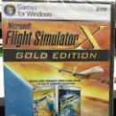 Videojuegos y Consolas: FLIGHT SIMULATOR X GOLD EDITION. Lote 160707054