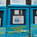 Videojuegos y Consolas: LOTE LOS MEJORES JUEGOS PARA WINDOWS I, II Y III ( DISQUETTES/DISKETTES 3.5 PERFECTOS) NUNCA EN TC. Lote 160809054