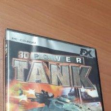 Videojuegos y Consolas: 08-00328 JUEGO PC- 3D POWER TANK. Lote 160821546
