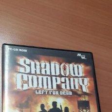 Videojuegos y Consolas: 08-00329 JUEGO PC- SHADOW COMPANY, LEFT FOR DEAD. Lote 160822158