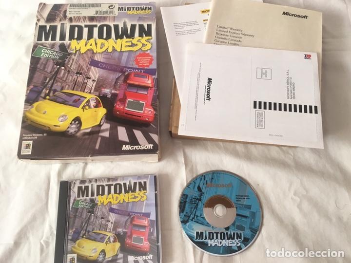 MIDTOWN MADNESS PC, CASTELLANO (Juguetes - Videojuegos y Consolas - PC)