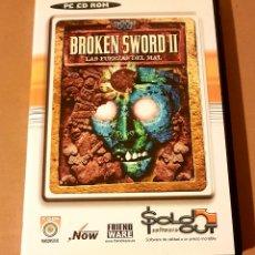 Videojuegos y Consolas: BROKEN SWORD II - LAS FUERZAS DEL MAL. JUEGO MÍTICO DE PC. Lote 160890457
