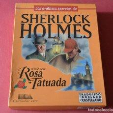 Videojuegos y Consolas: SHERLOCK HOLMES - LOS ARCHIVOS SECRETOS - EL CASO DE LA ROSA TATUADA - PC - ELECTRONIC ARTS. Lote 160957266