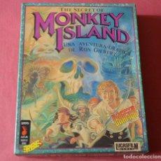 Videojuegos y Consolas: THE SECRET OF MONKEY ISLAND - AVENTURA GRAFICA RON GILBERT - ERBE - LUCAS FILM - 8 DISCOS FLEXIBLES. Lote 179546770