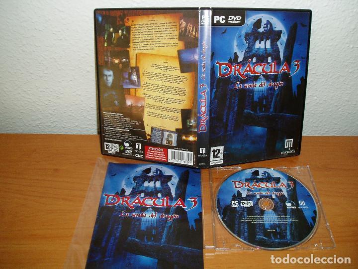 Videojuegos y Consolas: DRACULA 3 LA SENDA DEL DRAGON PC DVD - Foto 2 - 160993454