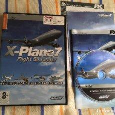 Videojuegos y Consolas: XPLANE 7 FLIGHT SIMULATOR X PLANE PC DVD SIMULADOR VUELO PROFESIONAL KREATEN. Lote 161165230