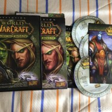 Jeux Vidéo et Consoles: WORLD OF WARCRAFT THE BURNING CRUSADE EXPANSION WOW 4 CDS PC CD ROM KREATEN. Lote 161170782