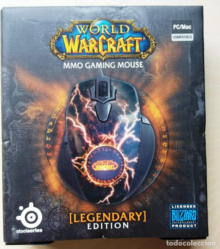 STEELSERIES WORLD OF WARCRAFT LEGENDARY MMO GAMING MOUSE (Juguetes - Videojuegos y Consolas - PC)