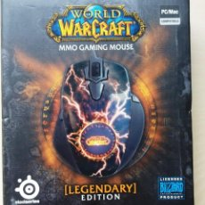 Videojuegos y Consolas: STEELSERIES WORLD OF WARCRAFT LEGENDARY MMO GAMING MOUSE . Lote 161430806