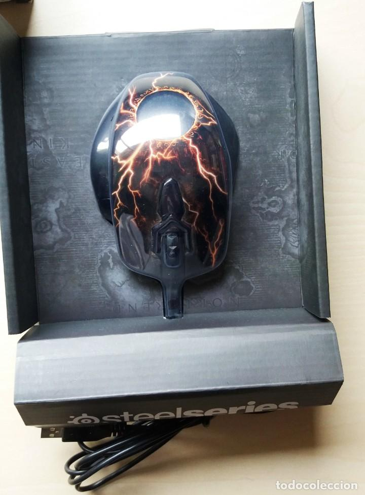 Videojuegos y Consolas: SteelSeries World of Warcraft Legendary MMO Gaming Mouse - Foto 3 - 161430806