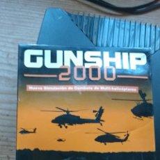 Videojuegos y Consolas: GUNSHIP 2000 CAJA PC LEER ANTES. Lote 161553486