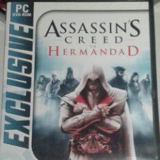 Videojuegos y Consolas: ASSASSIN'S CREED. LA HERMANDAD. BROTHERHOOD. CASTELLANO. UBISOFT.. Lote 161686137