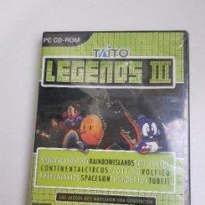 Videojuegos y Consolas: TAITO LEGENDS III / 3 PC (NUEVO PRECINTADO). Lote 161719038