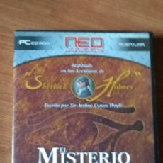 Videojuegos y Consolas: SHERLOCK HOLMES EL MISTERIO DE LA MOMIA PC. Lote 161812973