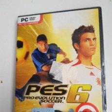 Videojuegos y Consolas: PES 6 PRO EVOLUTION SOCCER 6 - PC (PRECINTADO). Lote 162287906