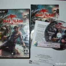 Videojuegos y Consolas: DEAD ISLAND - PC DVD 2011 - TECHLAND DEEP SILVER - COMPLETO MUY BUEN ESTADO. Lote 162393322