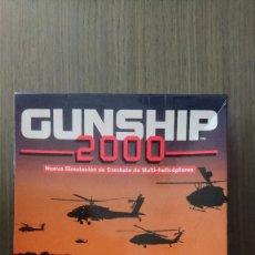 Videojuegos y Consolas: JUEGO GUNSHIP 2000 DISQUETES 3,5 MICROPROSE PC. Lote 162406738
