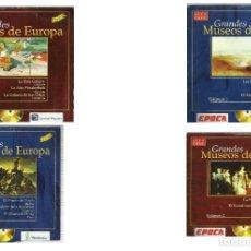 Videojuegos y Consolas: GRANDES MUSEOS DE EUROPA 4 CD´S. Lote 162509462