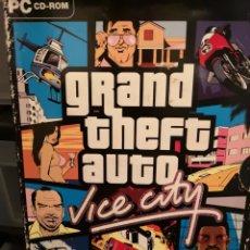 Videojuegos y Consolas: 033. JUEGO DE PC. GRAND THEFT AUTO. VICE CITY. Lote 162567692