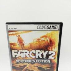 Videojuegos y Consolas: FARCRY 2 FORTUNES EDITION PC. Lote 162592530