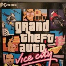 Videojuegos y Consolas: 034. JUEGO DE PC. GRAND THEFT AUTO. VICE CITY. Lote 162598441