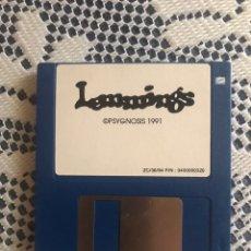 Videojuegos y Consolas: PC DISKETTE JUEGO LEMMINGS 1991. Lote 162987133