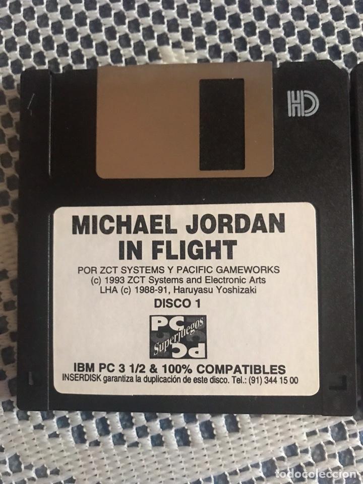 MICHAEL JORDAN IN FLIGHT JUEGO PC 1993 EN DISKETTES (Juguetes - Videojuegos y Consolas - PC)