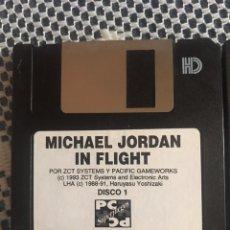 Videojuegos y Consolas: MICHAEL JORDAN IN FLIGHT JUEGO PC 1993 EN DISKETTES. Lote 163077093