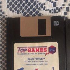 Videojuegos y Consolas: BLUE FORCE JUEGO PC 1993 EN 8 DISKETTES. Lote 163077553