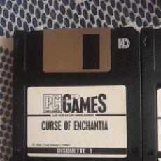 Videojuegos y Consolas: CURSE OF ENCHANTIA JUEGO PC 1992 EN DISKETTES. Lote 163101413