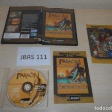 Videojuegos y Consolas: PC - FARAON , PAL ESPAÑOL , COMPLETO. Lote 163131326