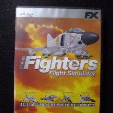 Videojuegos y Consolas: JUEGO PC STRIKE FIGHTERS, FLIGHT SIMULATOR. Lote 163140266