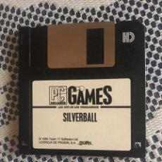 Videojuegos y Consolas: SILVERBALL PINBALL DISKETTE JUEGO PC 1993. Lote 163517657