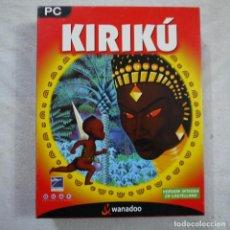 Videojuegos y Consolas: KIRIKÚ. VERSIÓN INTEGRA EN CASTELLANO - JUEGO DE PC. Lote 163604618