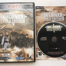 Videojuegos y Consolas: SOLDNER GOLD EDITION PC CD ROM SHOOTER CASTELLANO KREATEN. Lote 163817038