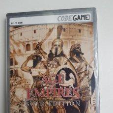 Videojuegos y Consolas: AGE OF EMPIRES - GOLD EDITION - PC (PRECINTADO). Lote 163992514