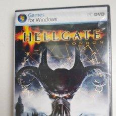 Videojuegos y Consolas: PC JUEGO HELLGATE LONDON HELL GATE LONDON (NUEVO PRECINTADO). Lote 163992894