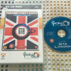 Videojuegos y Consolas: GRAND THEFT AUTO LONDON 1969 MISSION PACK 1 GTA PC CD ROM KREATEN. Lote 164161830