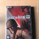 Videojuegos y Consolas: DAY OF DEFEAT. Lote 164474634