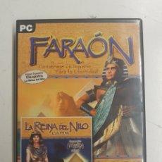 Videojuegos y Consolas: FARAON Y CLEOPATRA LA REINA DEL NILO - PC. Lote 164538292